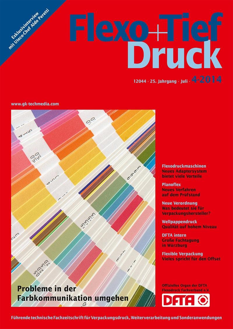 Produkt: Flexo+Tief-Druck 4/2014 Digital
