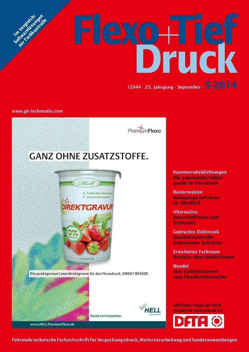 Produkt: Flexo & Tief Druck Digital 5/2014