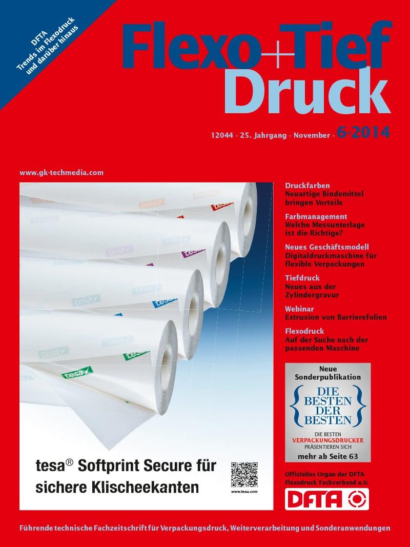 Produkt: Flexo+Tief-Druck 6/2014 Digital