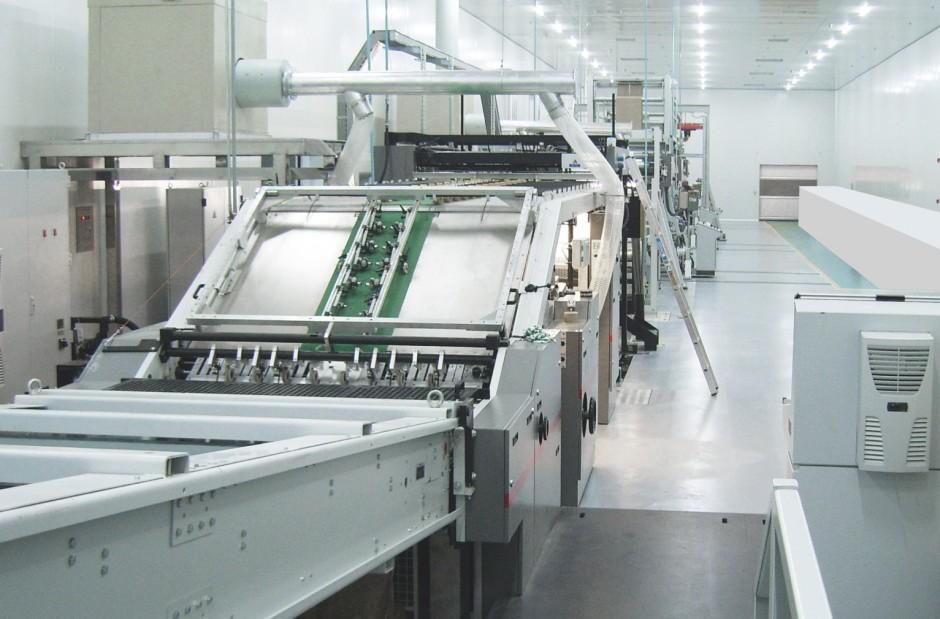 Kaschiermaschine Bobst Asitrade Visionflute ohne Nassende, Bobst Group, Flexodruckmaschine, Kaschierung, Preprint, Verpackungen, Bobst Group, Flexodruckmaschine, Kaschierung, Preprint, Verpackungen