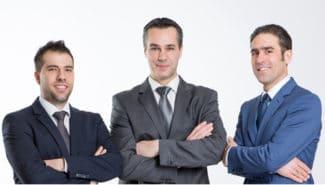 Von links nach rechts: Dipl.-Ing. Geritt Block, Dipl.-Ing. Kay Kuhlmann und Markus Babel von BST ProControl