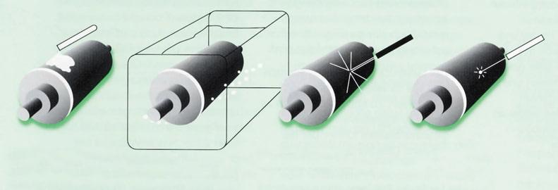 Reinigungsverfahren für Rasterwalzen, Rasterwalzenreinigung, DFTA, Drucken, Rasterwalze