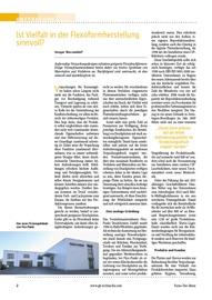 Elastomer-Flexodruckformen, Farbmanagement, Flexodruck, Verpackungen