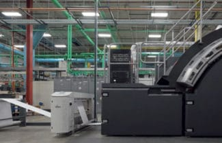 Die Integration des Digimoister 1500 in eine High-Speed-Digitaldruckmaschine