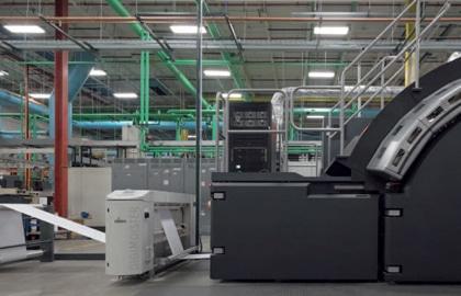 Die Integration des Digimoister 1500 in eine High-Speed-Digitaldruckmaschine