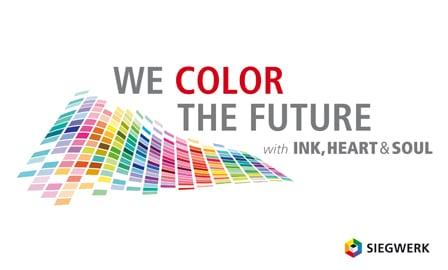 """Der Druckfarbenhersteller ist unter dem Motto We color the future"""" auf der drupa 2016 vertreten"""