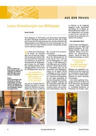 Digitaldruck, Flexodruck, Verpackungen