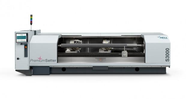 Der S3000 für die Direktgravur von Elastomer-Flexodruckformen mit großen Druckbreiten