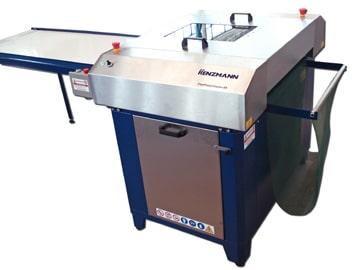 Die Durchlaufgeschwindigkeit der Platten lässt sich individuell über ein manuelles Potentiometer regeln