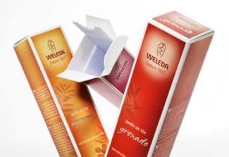 Integrierte Liner werden vor allem bei Verpackungen für die Beauty Care Branche eingesetzt