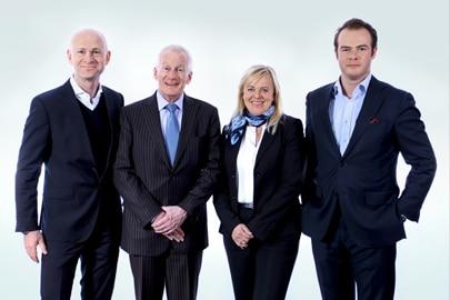 v.l.n.r.: Matthias Kurtz, Rako Gruppe; Daniel Künzli, Salzmann AG; Elisabeth Fehr, Omnipack AG; Adrian Tippenhauer, Rako Gruppe