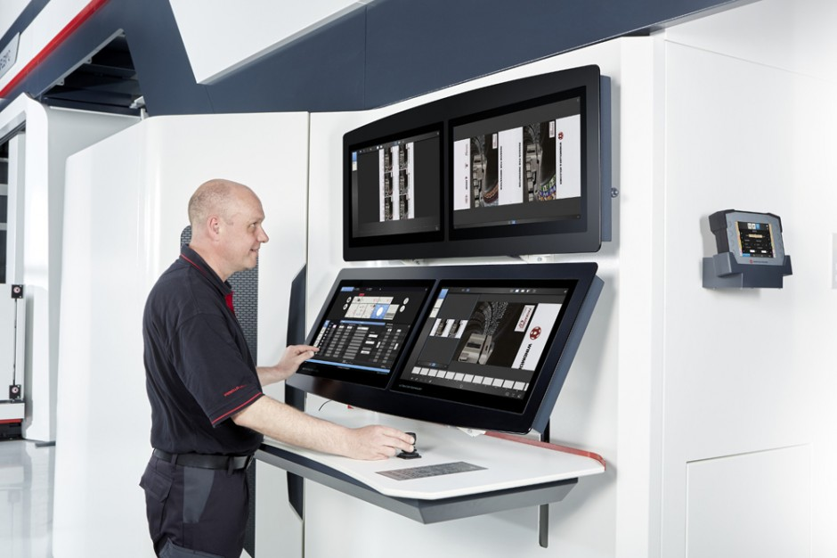 Die Miraflex C inklusive Vision kann im Rahmen von Maschinenvorführungen während der gesamten drupa auf dem W&H-Stand im laufenden Betrieb erlebt werden