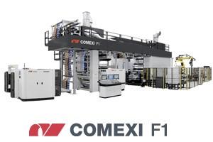 Eine der Neuheiten von Comexi auf der drupa: Die Flexodruckmaschine F1