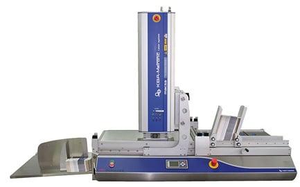 Das Vereinzelungssystem Udaformaxx in Kombination mit einem CO2-Laser ermöglicht für Druck-und Verpackungsbetriebe eine individuelle Adressierung und Markierung just-in-time