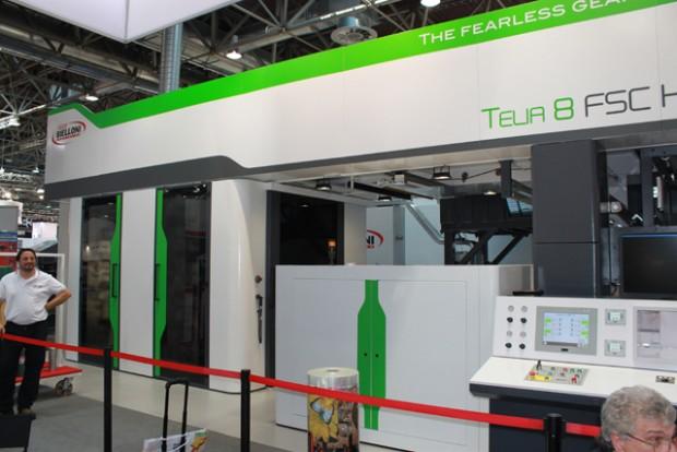 Die Achtfarben-Flexodruckmaschine Telia von Bielloni