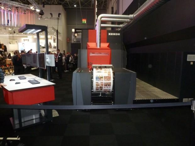 Xeikon stellt seine neue Digitaldruckmaschine Trillium One vor
