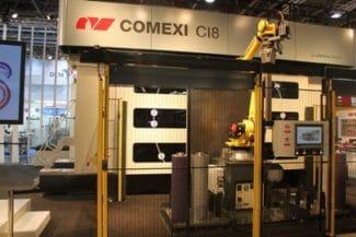 Comexi zeigt während der Messe neben der Offsetdruckmaschine CI8 unter anderem Testläufe mit der Flexodruckmaschine F1 und der Tiefdruckmaschine R2