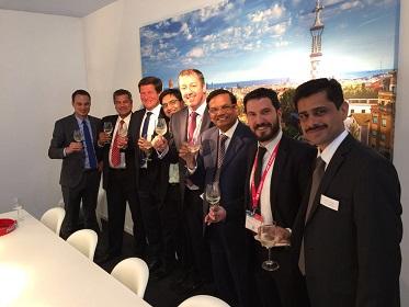 representatives of Creative Polypack, Comexi and Reifenhäuser India
