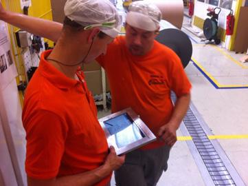 Der Iontouch-Mobilzugriff bei der Inbetriebnahme des Systems
