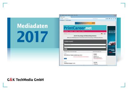 Mediadaten 2017 PrintCareer.net