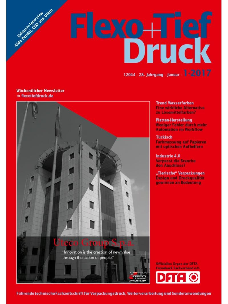 Produkt: Flexo & Tief Druck Digital 1/2017