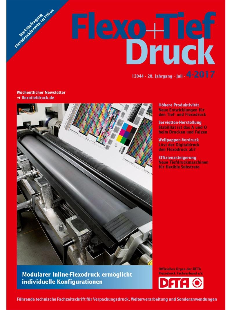 Produkt: Flexo+Tief-Druck 4/2017 Digital