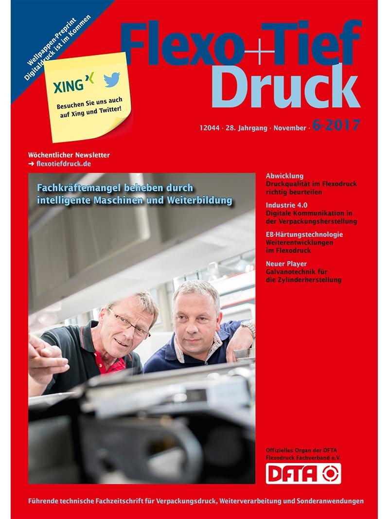 Produkt: Flexo & Tief Druck Digital 6/2017