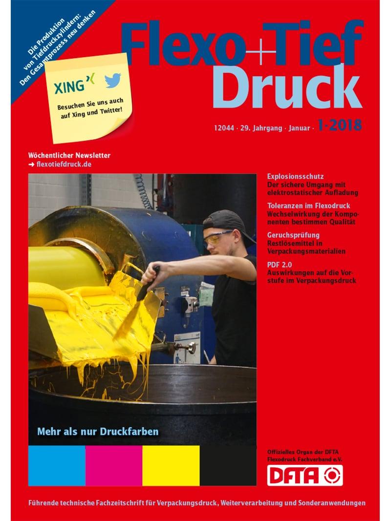 Produkt: Flexo+Tief-Druck 1/2018 Digital