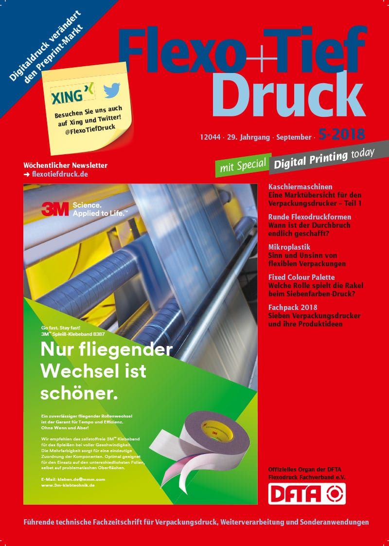 Produkt: Flexo+Tief-Druck 5/2018 Digital