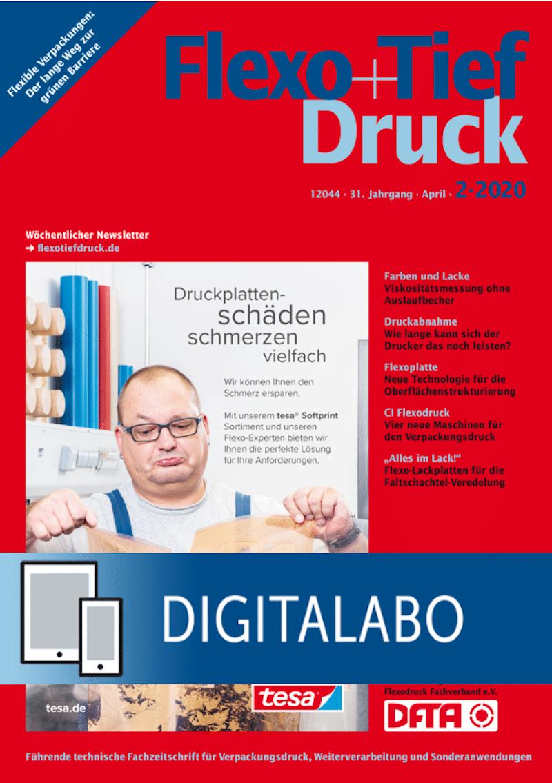 Produkt: Flexo+Tief-Druck Jahresabonnement Digital