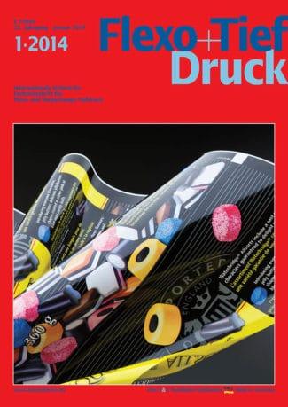 Titelseite Flexo Tiefdruck Ausgabe 1/2014