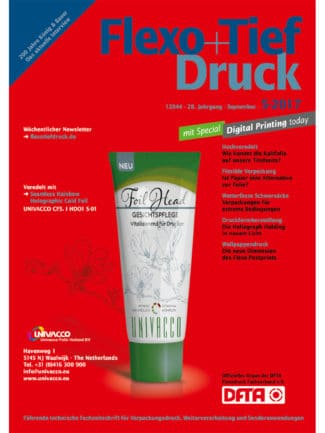 Titelseite Flexo Tiefdruck Ausgabe 5/2017