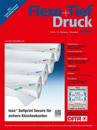 Titelseite Flexo Tiefdruck Ausgabe 6/2014