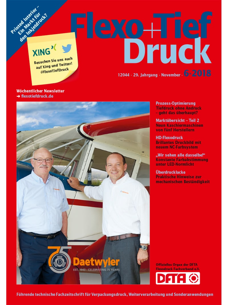 Produkt: Flexo+Tief-Druck 6/2018 Digital