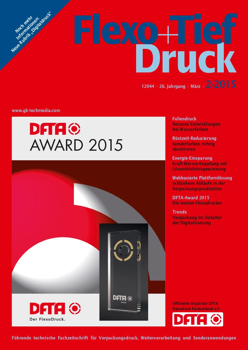 Produkt: Flexo+Tief-Druck 2/2015 Digital