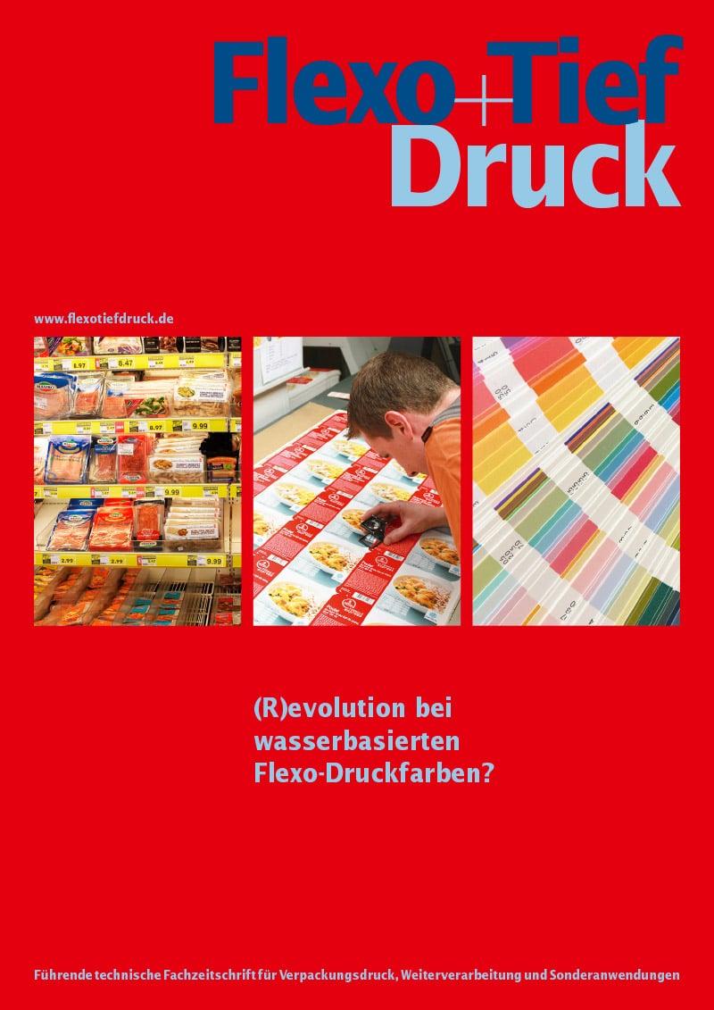 Produkt: Download »(R)evolution bei wasserbasierten Flexo-Druckfarben?«