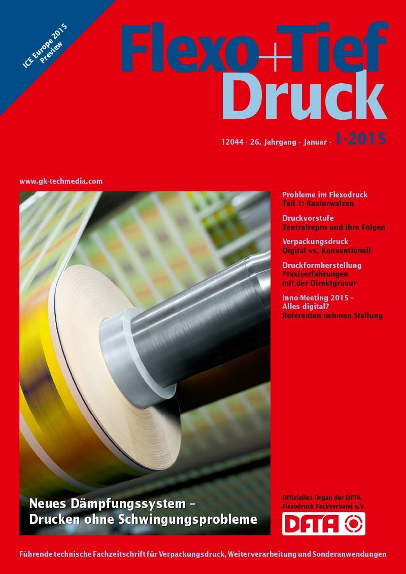 Produkt: Flexo & Tief Druck Digital 1/2015