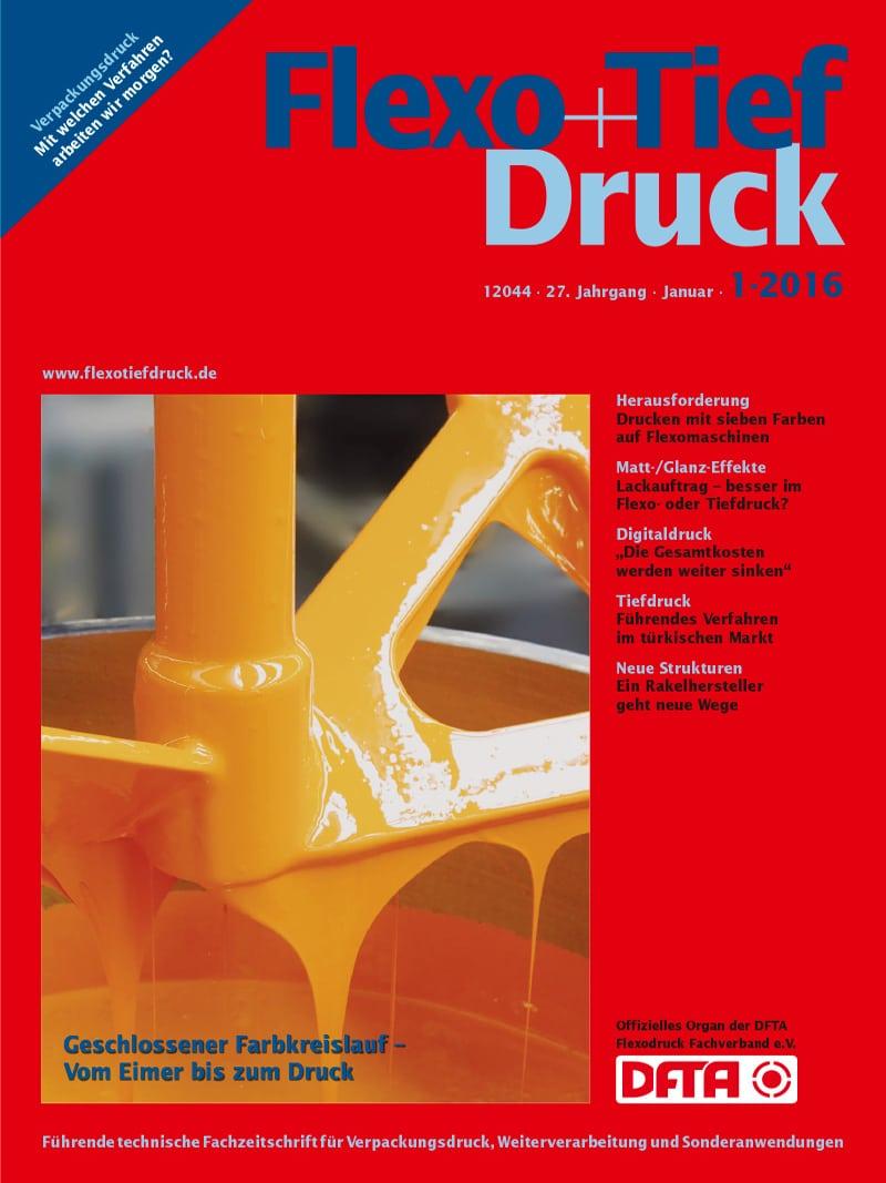 Produkt: Flexo+Tief-Druck 1/2016 Digital
