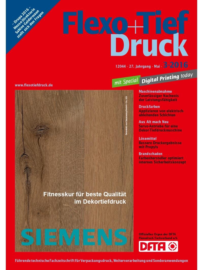 Produkt: Flexo+Tief-Druck 3/2016 Digital