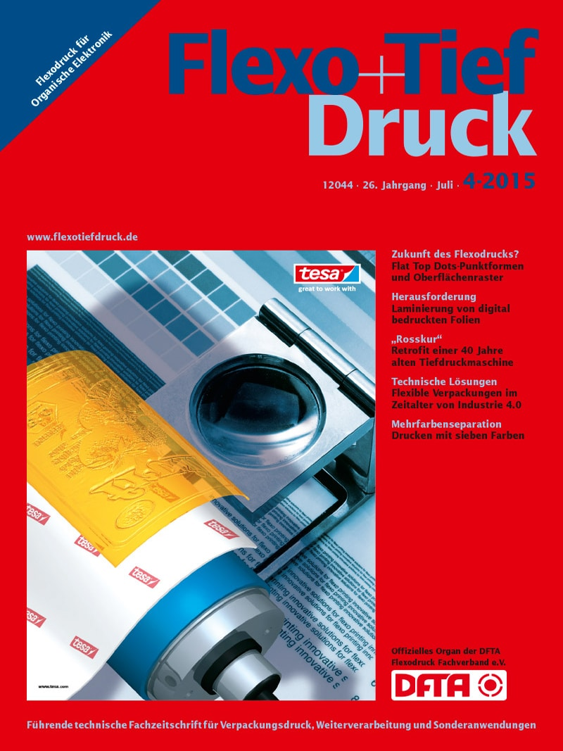 Produkt: Flexo & Tief Druck Digital 4/2015
