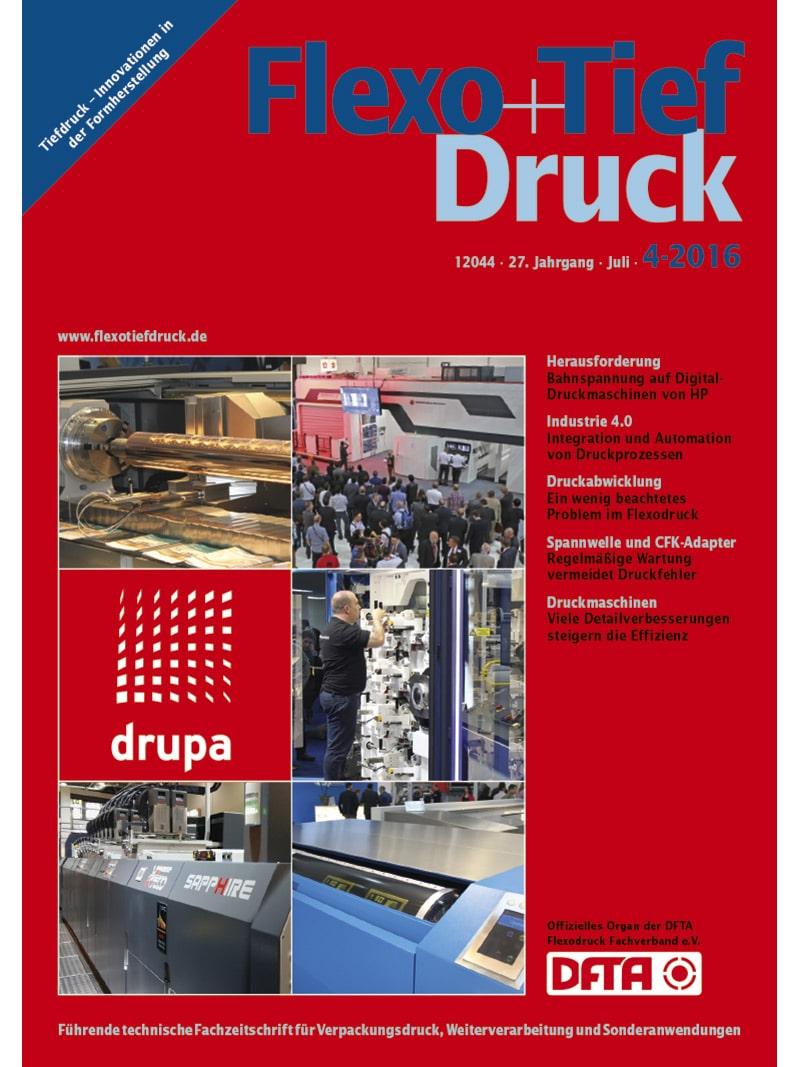 Produkt: Flexo+Tief-Druck 4/2016 Digital