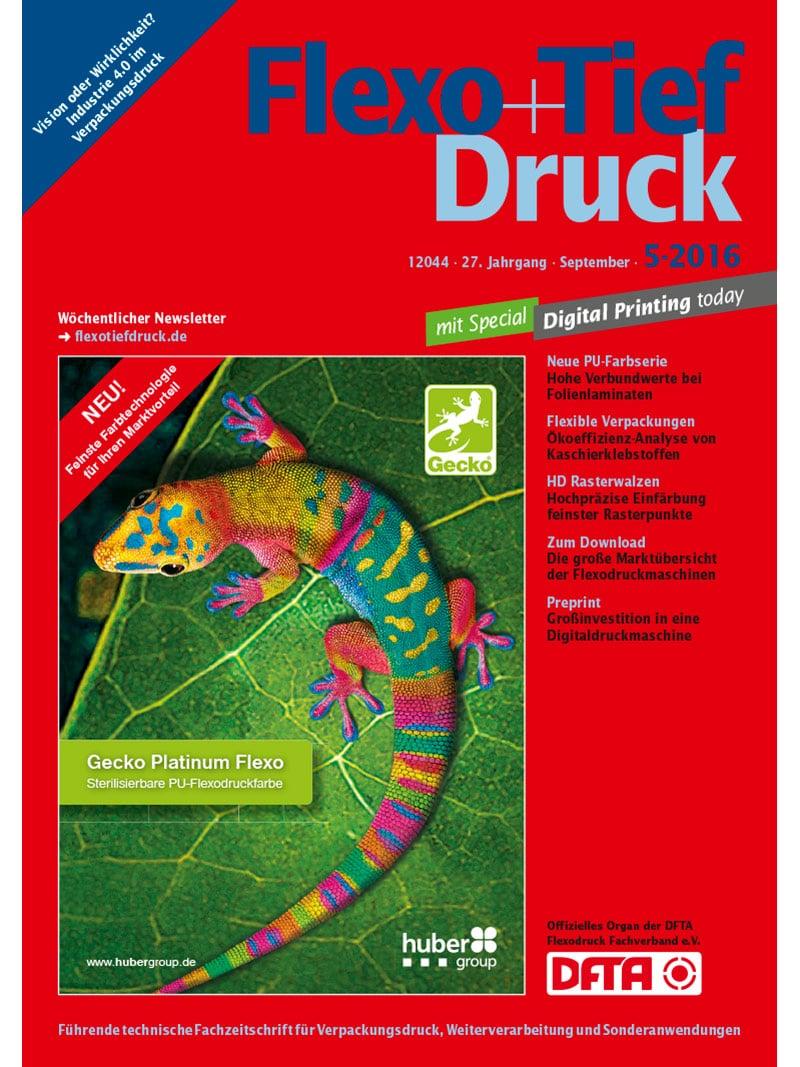 Produkt: Flexo & Tief Druck Digital 5/2016