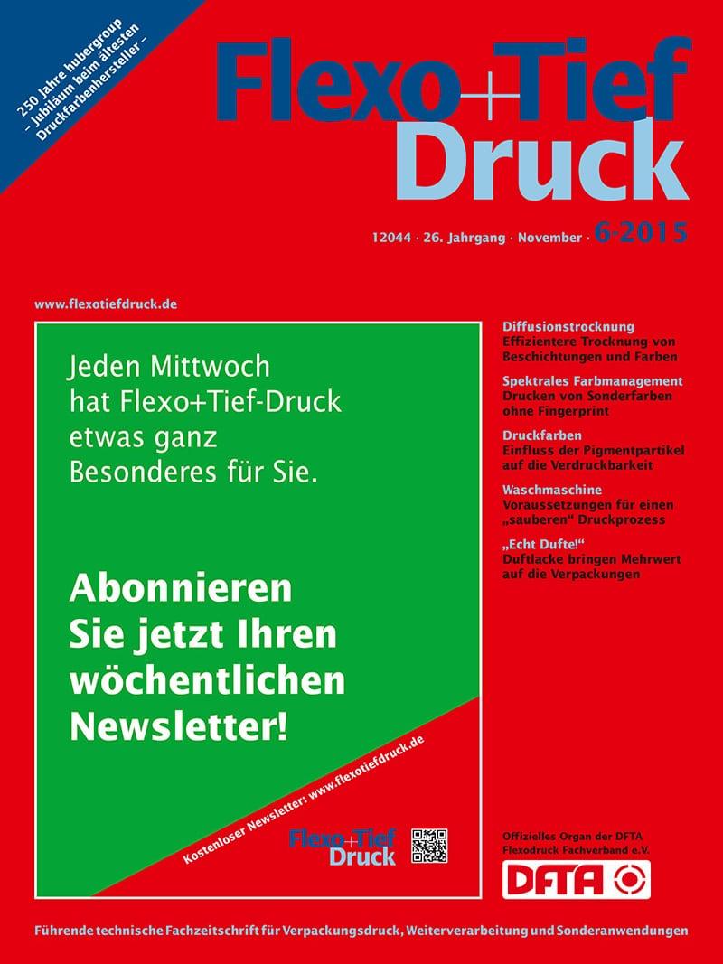 Produkt: Flexo & Tief Druck Digital 6/2015
