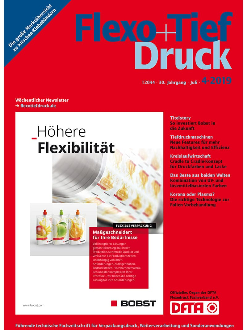 Produkt: Flexo+Tief-Druck 4/2019 Digital