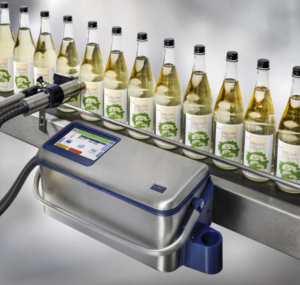 Linx 10 ist ein mobiler Continuous Inkjetdrucker für den Einstieg in die industrielle Kennzeichnung (Quelle: Bluhm Systeme)